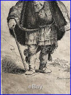 Rembrandt van Rijn 16061669 The Persian tirage XVII non identifié