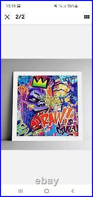Richard ORLINSKI RAW Fine art SOLD OUT 500 exemplaires signée numérotée