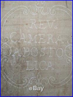 Saint Benoit possédé gravure Gio. Giacomo de Rossi Simone Cantarini Apostolica