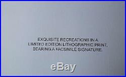 Salvador DALI Montre Molle LITHOGRAPHIE numérotée et signée #500ex