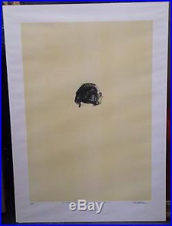 Sam Szafran lithographie tête épreuve d'artiste Henri Cartier-Bresson P202