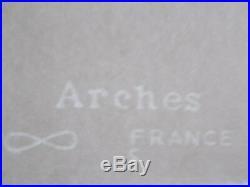 Serigraphie, Andy Warhol Mickey Rouge Tirage 100 Ex, Castelli / Israel