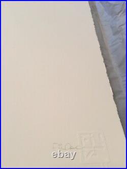 Sérigraphie Velveteen / Fin Dac Signée Numérotée (Invader/ Obey / C215)