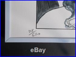 Serigraphie de Milo Manara, Numérotée et Signée au Crayon