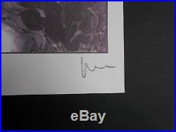 Serigraphie de Milo Manara, signée au crayon