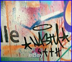 Seth Globepainter lithographie édition signée Street Art Kaws Invader Obey C215