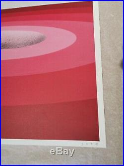 Seth Rouge Vortex lithograph print (NOT invader, Banksy, kaws, insect)