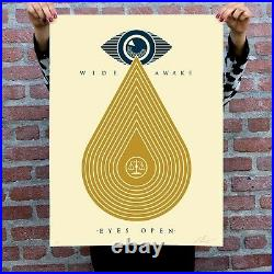 Shepard Fairey (OBEY) Wide Awake Signed xx/450 Art