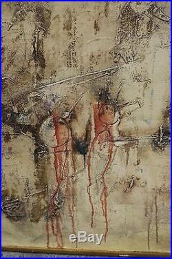 Slavko Kopac CERF VOLANT 1961 Artiste croate ART BRUT