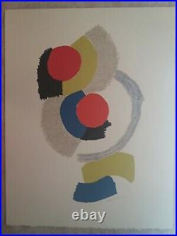 Sonia DELAUNAY Rythmes, lithographie originale signée au crayon