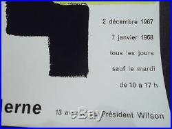 Sonia DELAUNAY affiche exposition musée d'art moderne P 1581