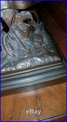 Statue en bronze de Jeanne d'Arc par DUMAIGE