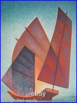 Toffoli Louis Lithographie Signée Au Crayon Annotée Ea Handsigned Ea Lithograph