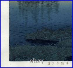UWEstampe japonaise originale Hasui Kawase 20
