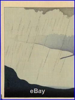 UWEstampe japonaise originale moderne Hanjiro Sakamoto 52