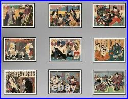 Utagawa Kunisada (1786-1865) Ancienne Estampe Japonaise (11)