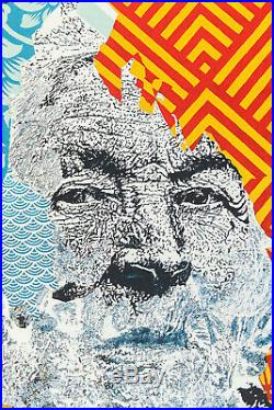 VHILS x SHEPARD FAIREY (OBEY) American Dreamers Signed Numbered/450