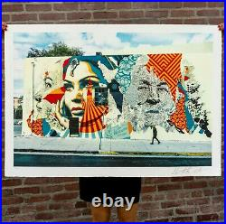 VHILS x SHEPARD FAIREY (OBEY) American Dreamers Signed Numbered/450 SOLD OUT