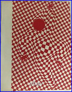 Vasarely Lithographie Double Face 1940