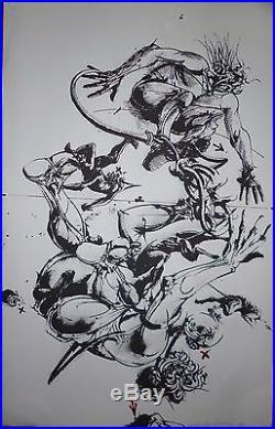 Velickovic Vladimir Lithographie signée art abstrait abstraction Belgrade Serbe