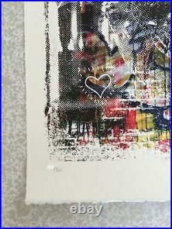 Vhils & PichiAvo Triumph Lithographie signée et numérotée xx/300