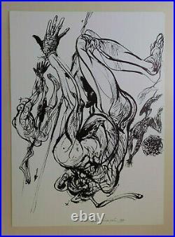 Vladimir Velickovic Lithographie originale signée et numérotée