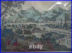 Vue D' Optique Vue De Peking 18 Eme Siecle N° 2