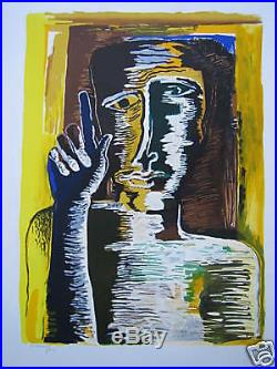 ZADKINE Ossip LITHOGRAPHIE ORPHEE