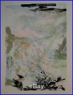 ZAO Wou-ki (1921-2013) Lithographie PV19